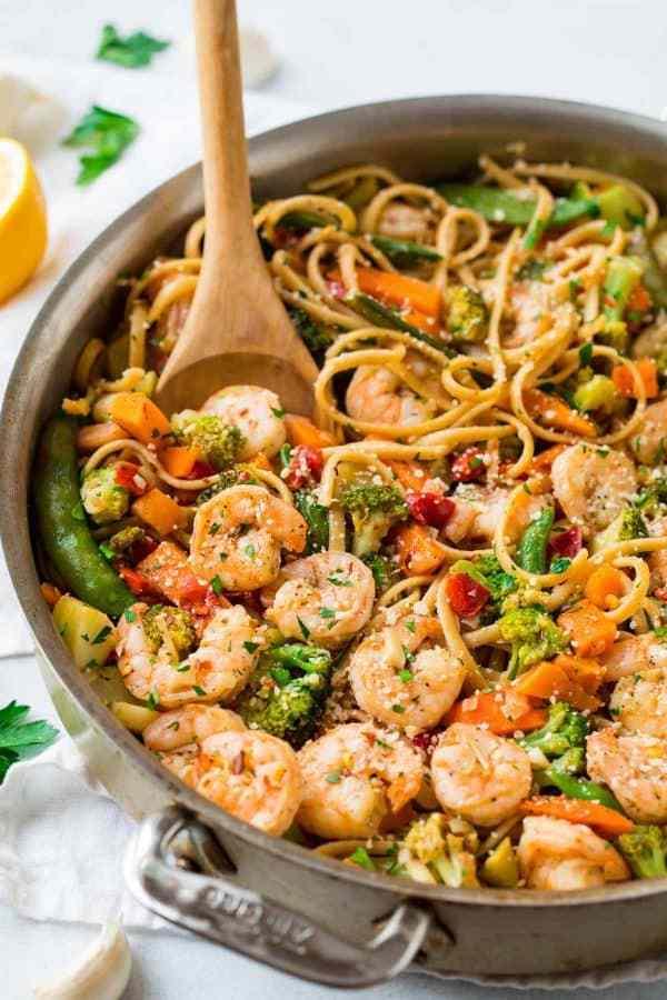 Garlic pasta . Appetizers clipart shrimp paste