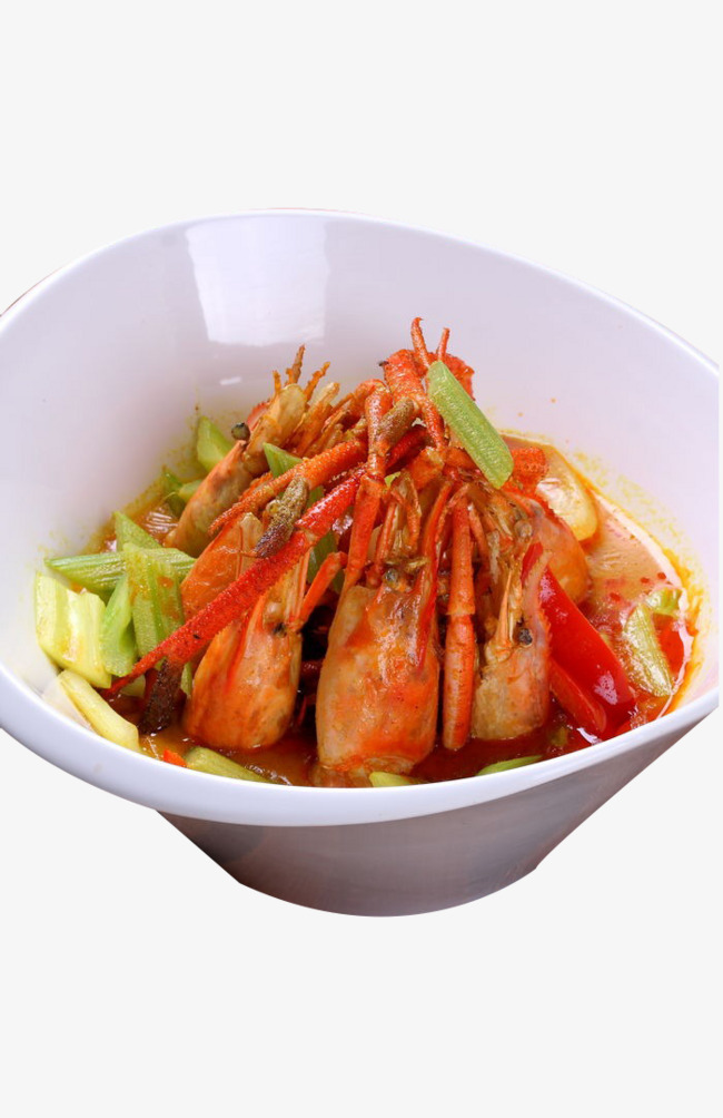 Appetizers clipart shrimp paste. Wong fried prawn curry
