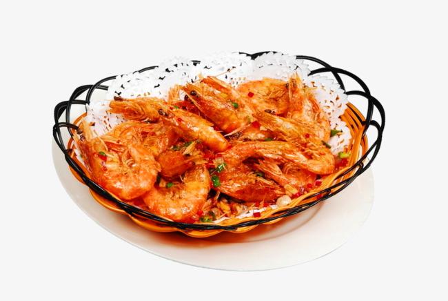 Salt and pepper snack. Appetizers clipart shrimp paste
