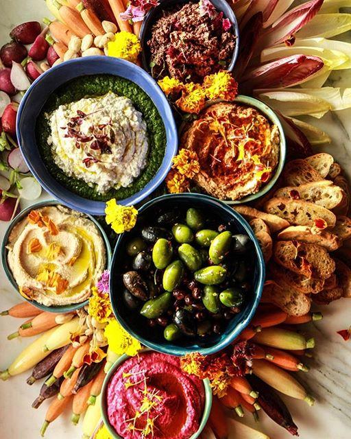 Vegan appetizer platter thefeedfeed. Appetizers clipart veggie plate