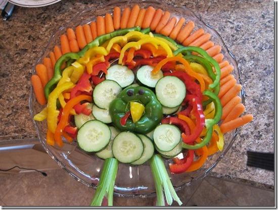 Appetizers clipart veggie plate. Thanksgiving appetizer vegetable turkey