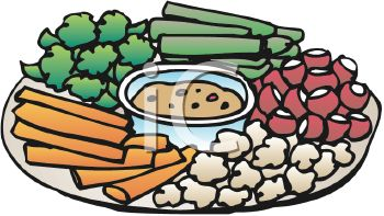 Vegetable . Appetizers clipart veggie tray