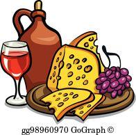 Appetizers clipart wine. Clip art vector spanish