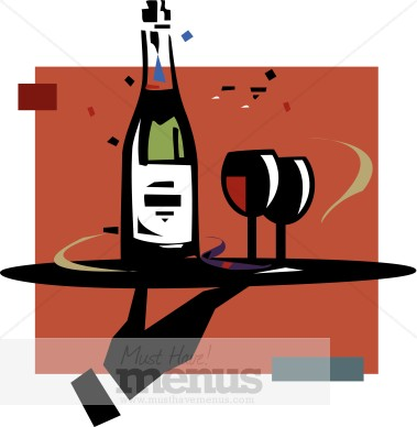 Free clip art bay. Appetizers clipart wine