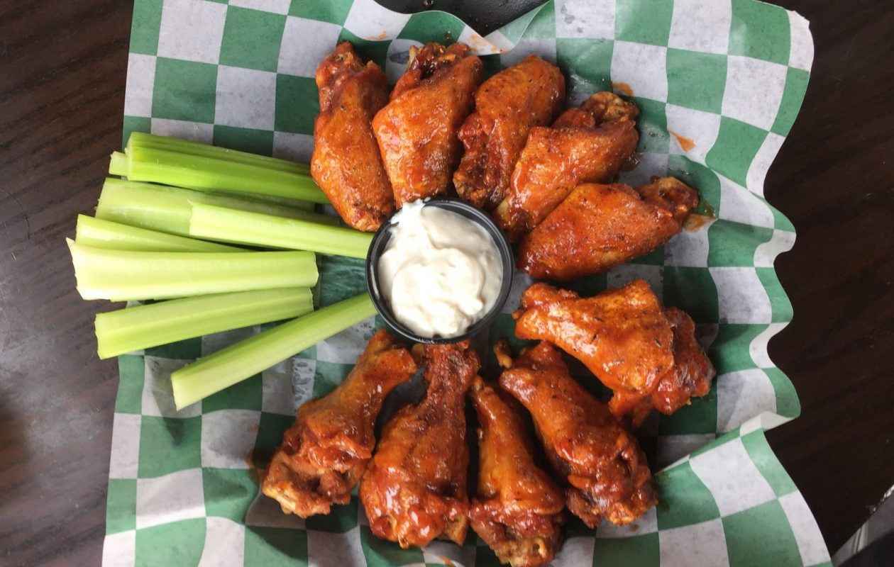 Appetizers clipart wings buffalo. Wing trail gives visitors