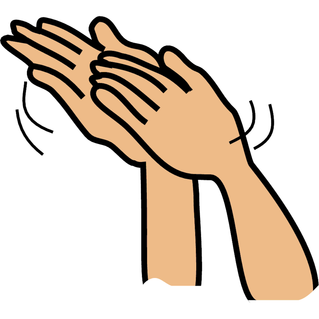 Free clapping hands cliparts. Applause clipart animation