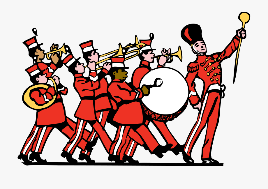 Applause clipart band.  collection of marching