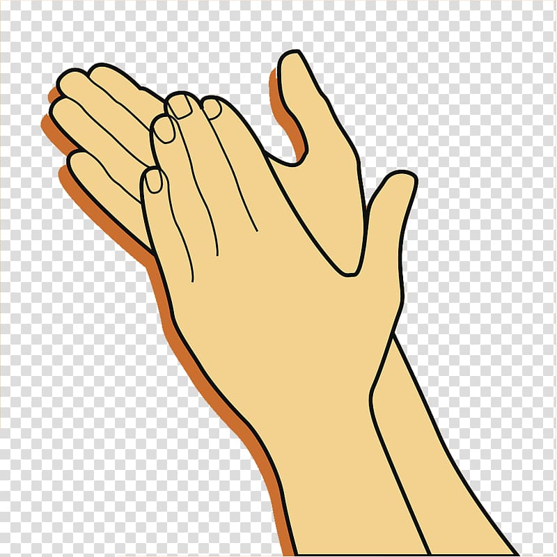 Clapping hands gesture your. Applause clipart clap