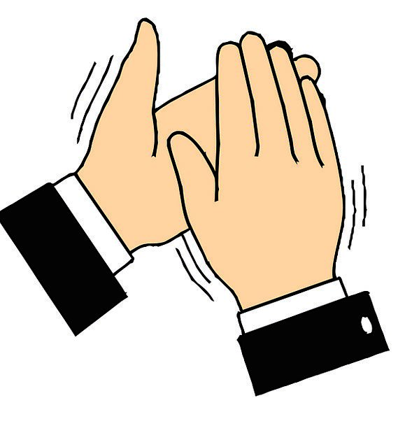 Clapping pixcove applauding slaps. Applause clipart clap