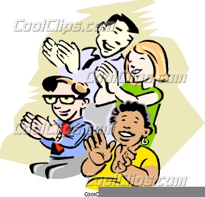 Applause clipart clip art. Audience clapping free images