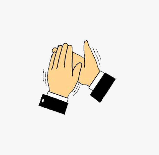 Applaud gesture celebrate encourage. Applause clipart encouragement