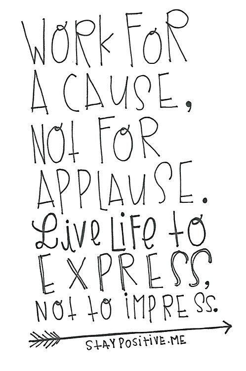 Ten best inspirational quotes. Applause clipart encouragement