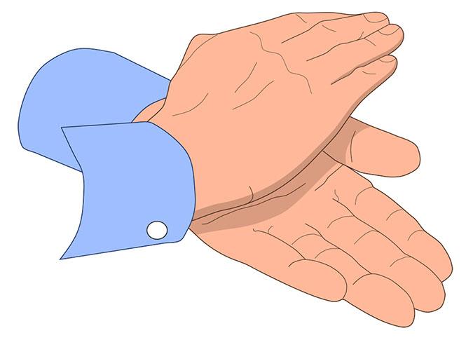 Image of clip art. Clap clipart