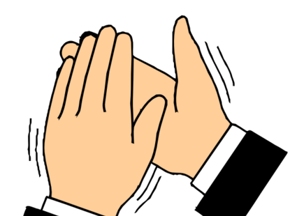 Hands clapping clip art. Applause clipart hand clap