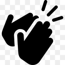 Clapping computer icons hand. Applause clipart instrument