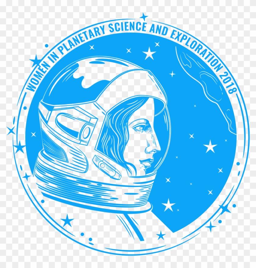 Applause clipart job. Wonderful woman astronaut