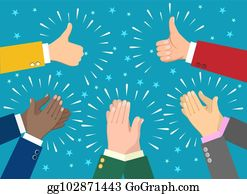 Applause clipart kudos. Clip art royalty free