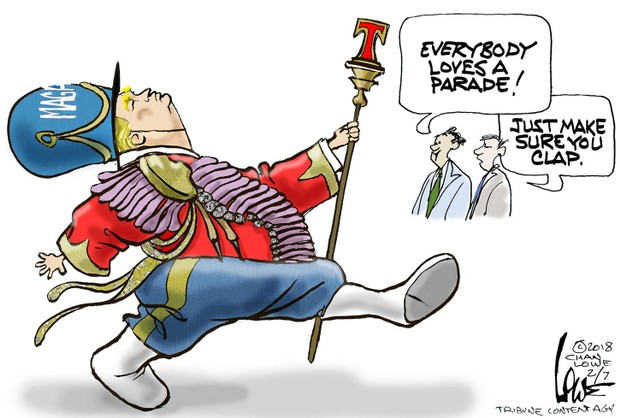 Applause clipart parade. Editorial cartoons of the