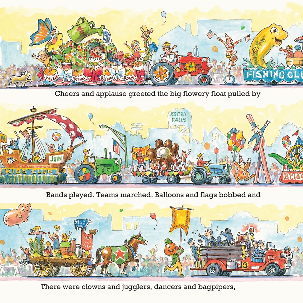 Tractor mac s best. Applause clipart parade