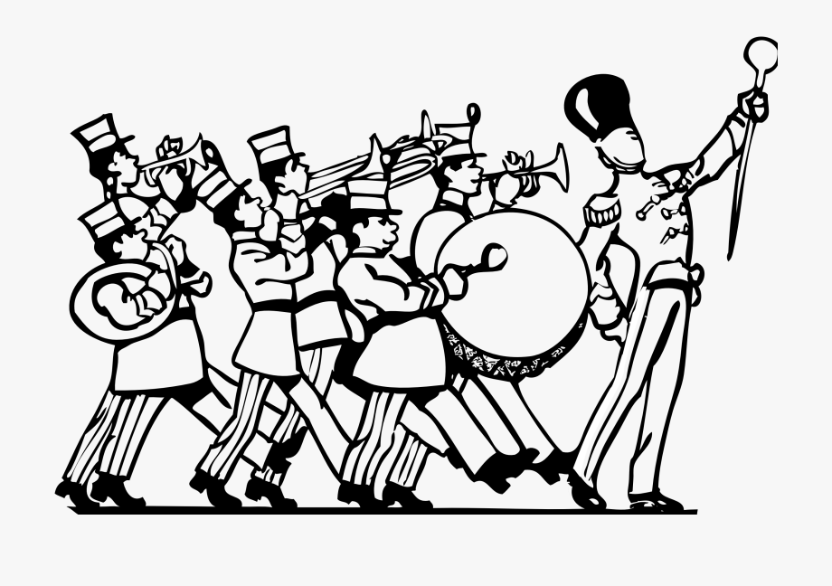 Image clip art free. Band clipart marching band
