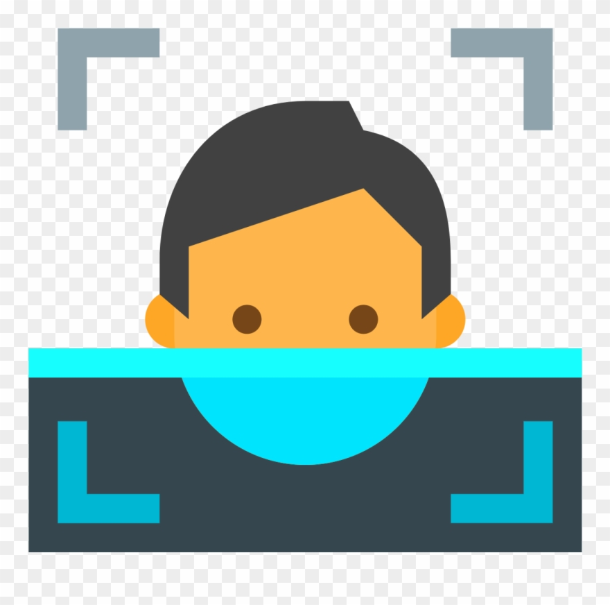 Applause clipart recognition. Team face detection icon