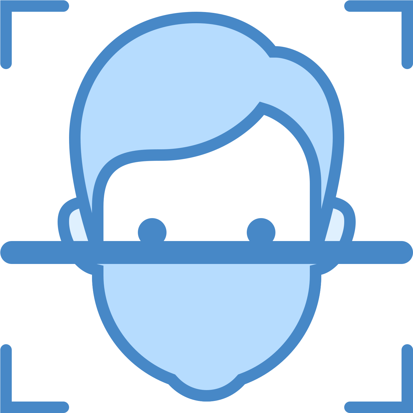 Facial icon face png. Applause clipart recognition