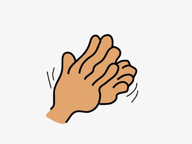 Applause clipart sign language. Picture material applaud clap
