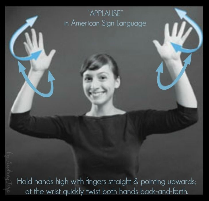 best images on. Applause clipart sign language