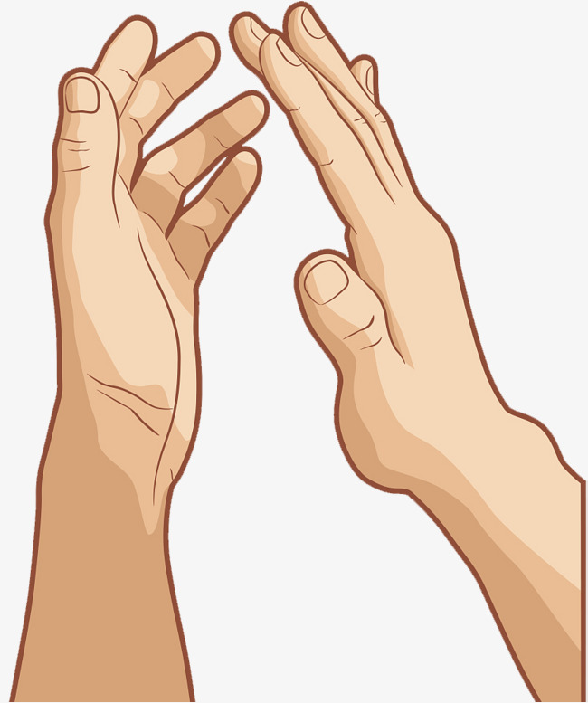 Applause clipart sign language. Hand clapping gesture png