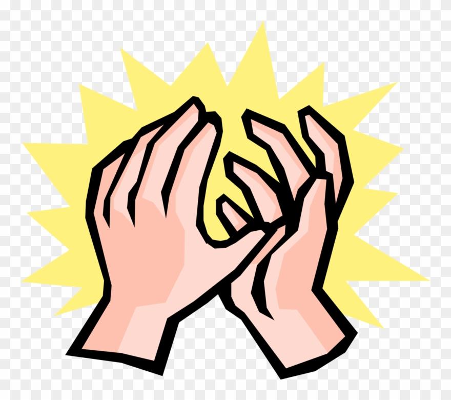 Applause clipart sign language. Clap hands clip art