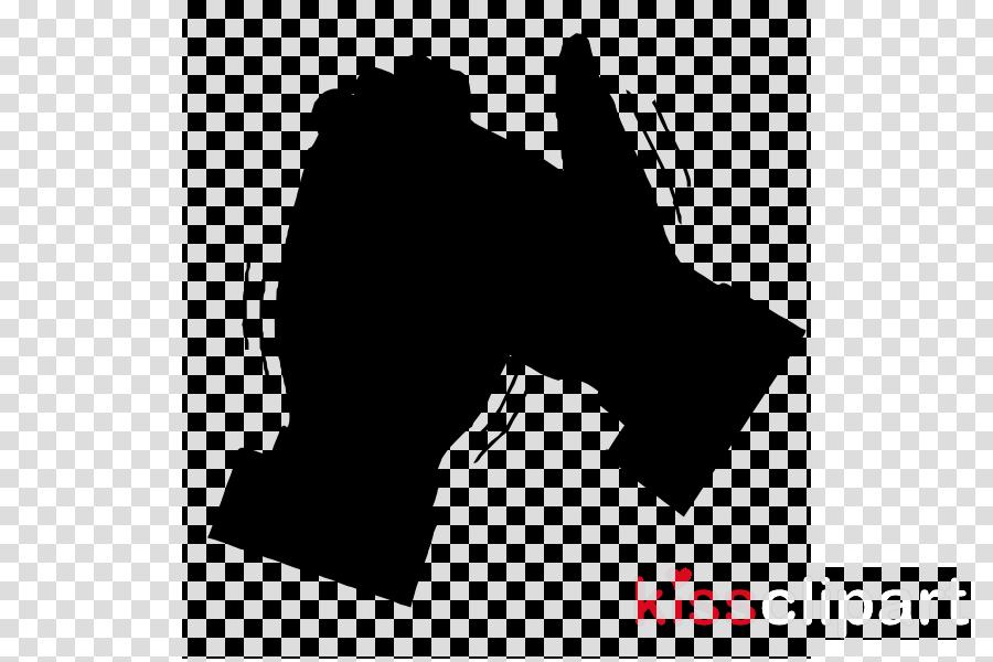 Hand cartoon black silhouette. Applause clipart sound effect