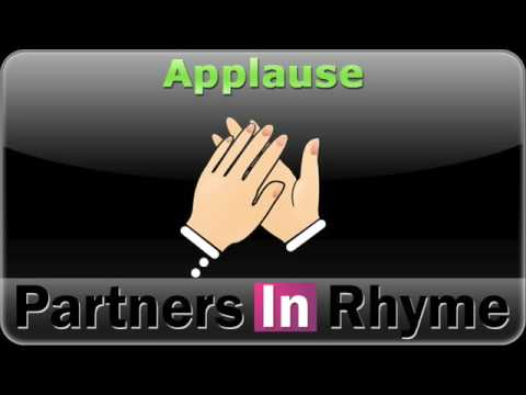 Effects clapping and cheering. Applause clipart sound effect