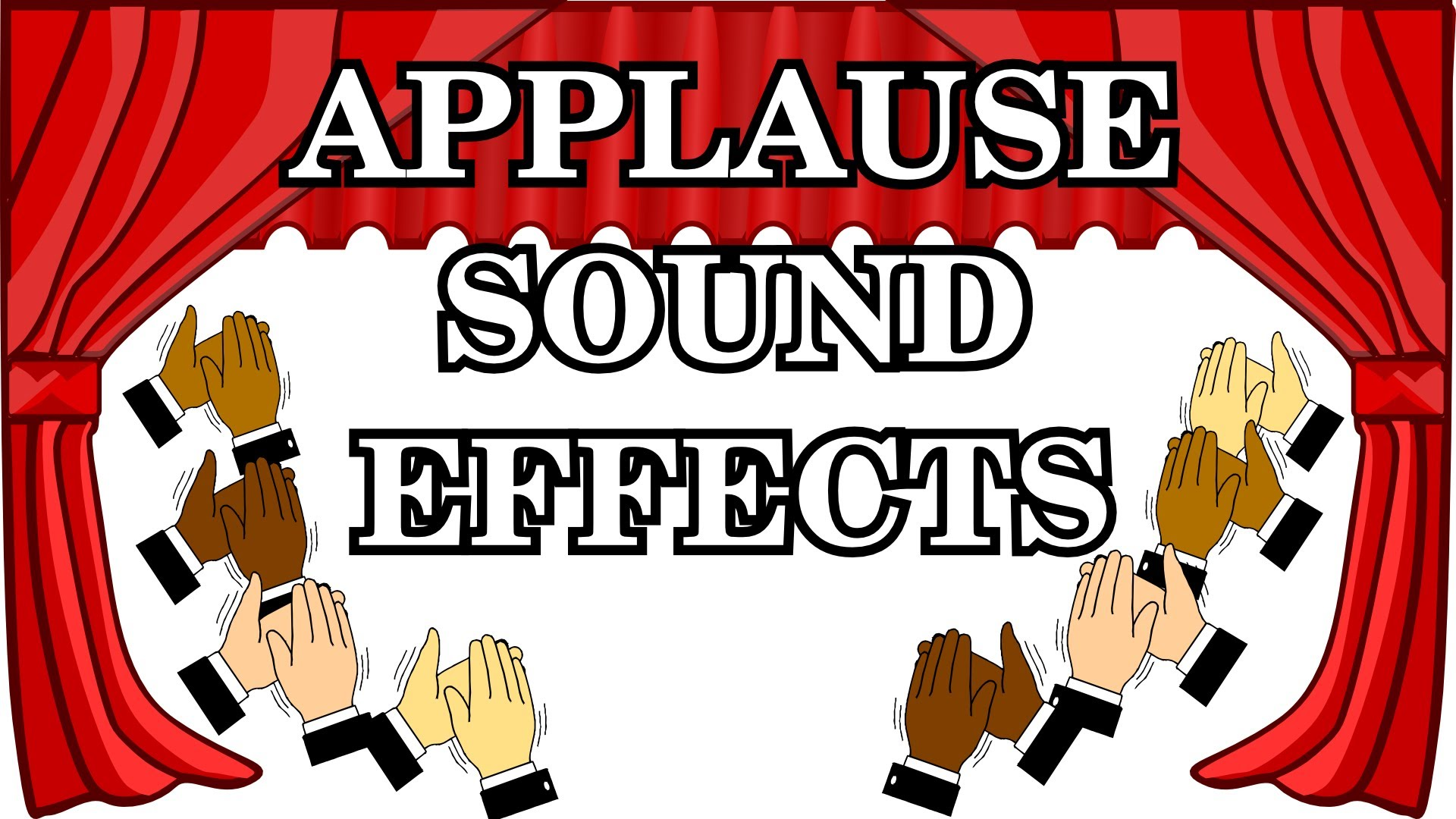 Effects . Applause clipart sound effect