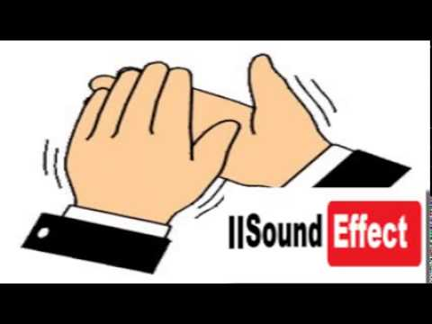 Applause clipart sound effect. People clapping youtube