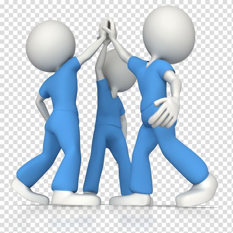 Teamwork clipart debate team. Three person clapping hands