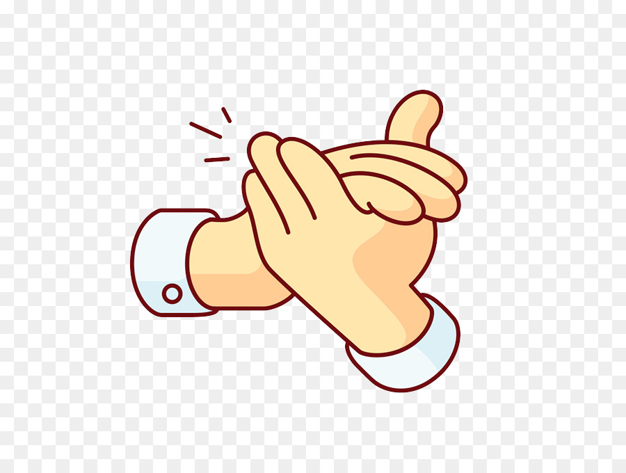 Clapping cartoon gesture png. Applause clipart transparent