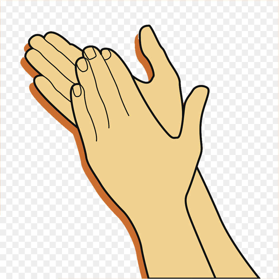 Applause clipart transparent. Clapping gesture clip art