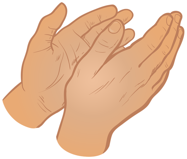 Hands png hd transparent. Hand clipart clapping