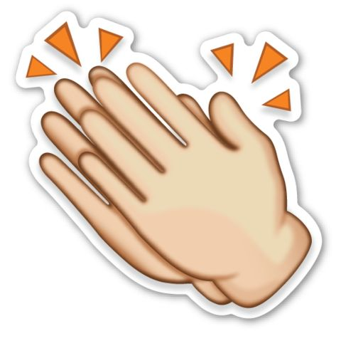 best clapping hands. Applause clipart uses hand