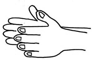 Applause clipart uses hand. Free clapping hands cliparts