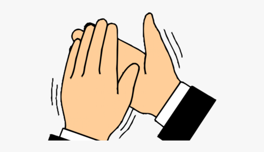 Clapping hands transparent gif. Applause clipart uses hand