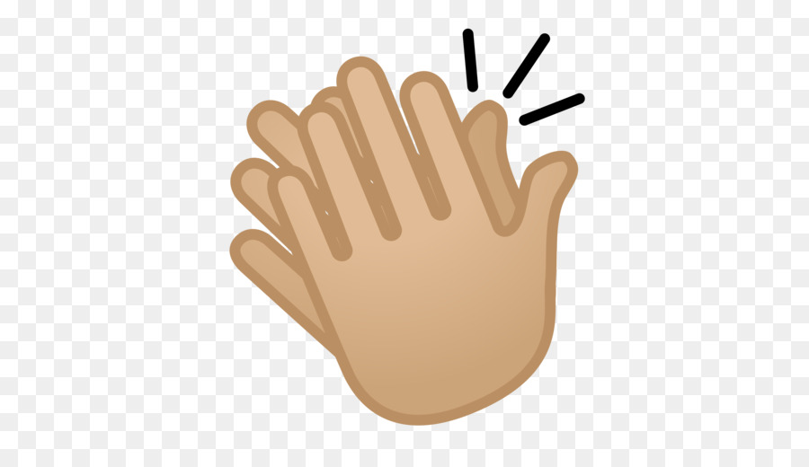 Applause clipart uses hand. Clapping emoji finger transparent
