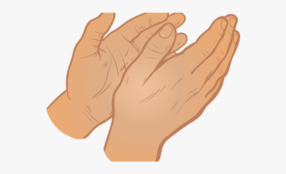 Hands clapping png . Hand clipart transparent background