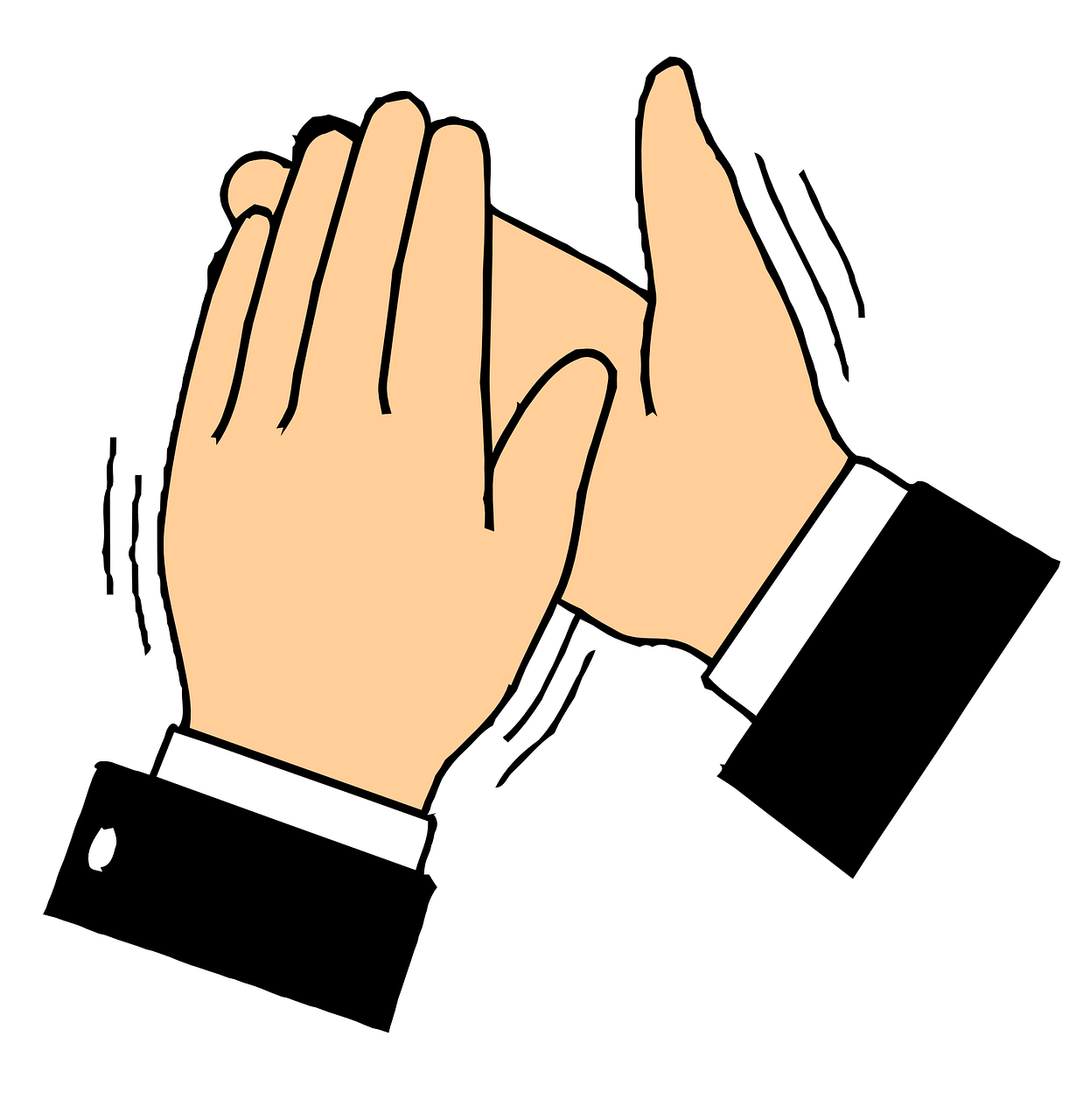 Applause clipart uses hand. The medium claps tool
