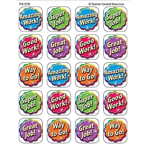 Good stickers amazon com. Applause clipart wonderful job