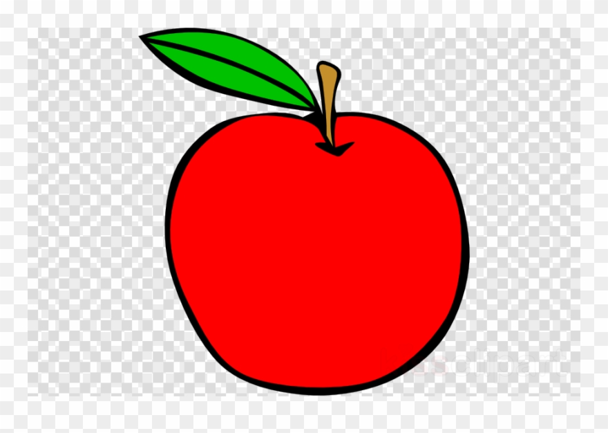 Red clip art ball. Apple clipart