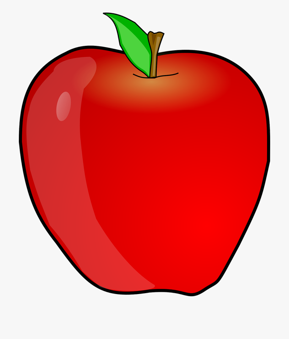 Apple clipart. Teacher free image transparent