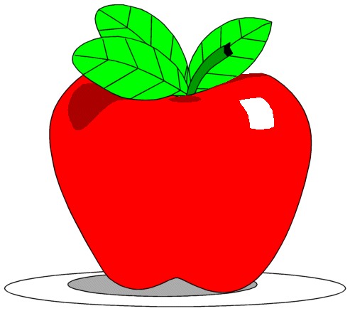 Apple clip art bay. Apples clipart animated