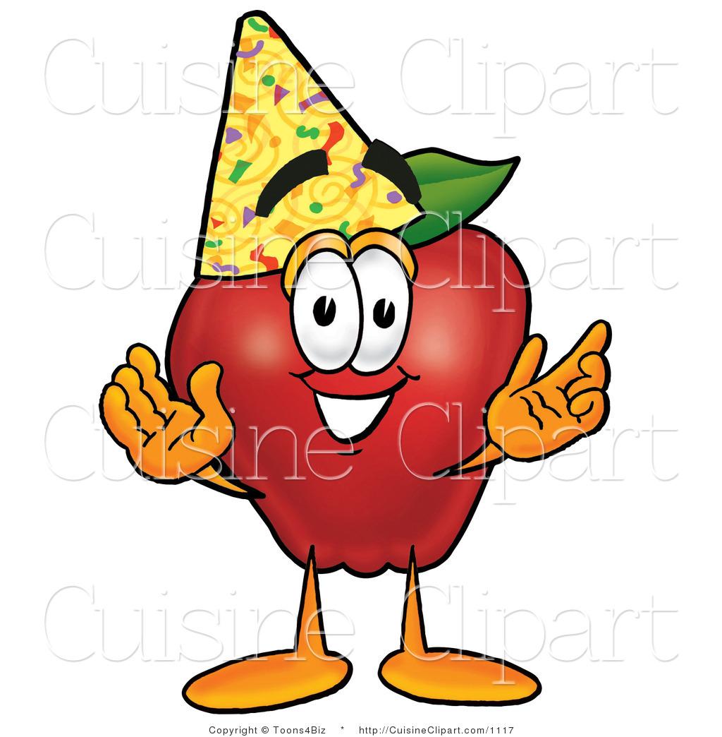 Apple clipart birthday. Cuisine of a healthy