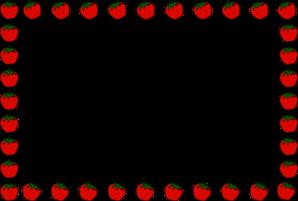 Apples clipart borders. Free apple border cliparts
